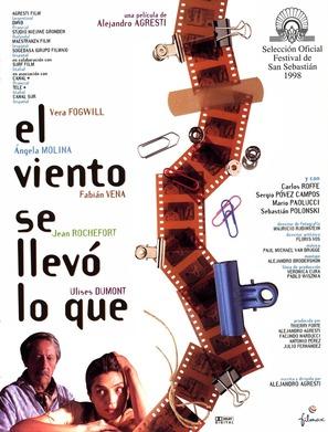Viento se llevó lo qué, El - Spanish poster (thumbnail)