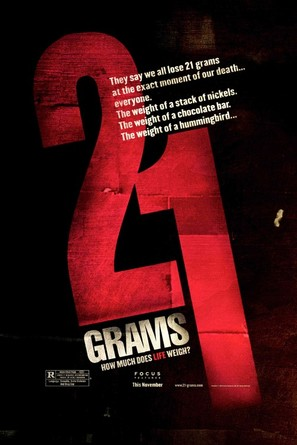 21 Grams - Movie Poster (thumbnail)