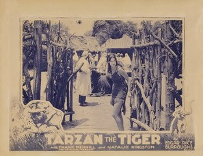 Tarzan the Tiger - Movie Poster (thumbnail)