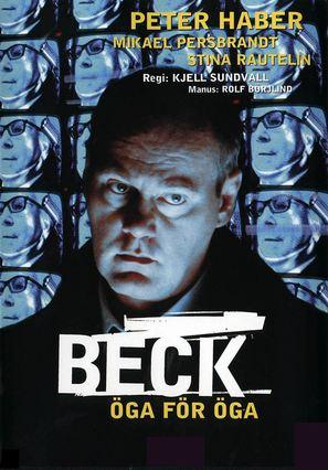"""""""Beck"""" Öga för öga - Swedish poster (thumbnail)"""
