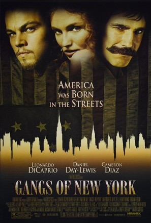 Gangs Of New York - Movie Poster (thumbnail)