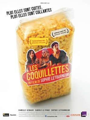 Les coquillettes - French Movie Poster (thumbnail)