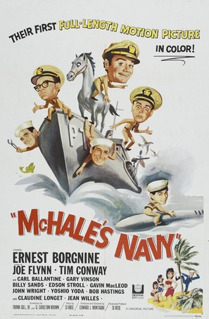 McHale's Navy - Movie Poster (thumbnail)