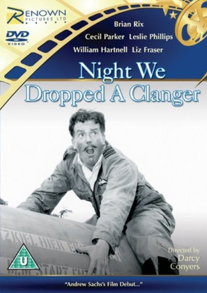 The Night We Dropped a Clanger - British DVD movie cover (thumbnail)