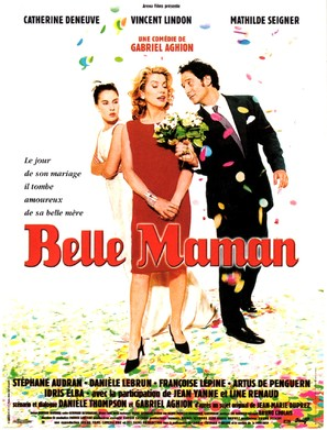Belle maman - French Movie Poster (thumbnail)