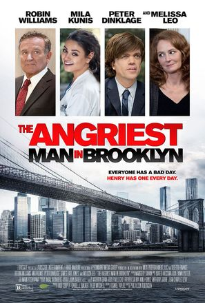 The Angriest Man in Brooklyn - Movie Poster (thumbnail)