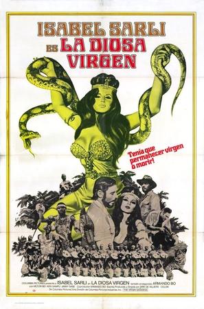 La diosa virgen - Argentinian Movie Poster (thumbnail)