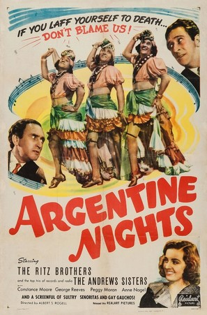Argentine Nights - Movie Poster (thumbnail)