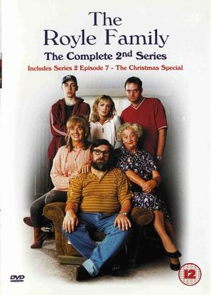 """""""The Royle Family"""" - British DVD movie cover (thumbnail)"""