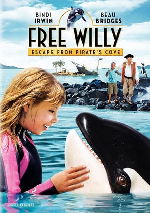 Free Willy: Escape from Pirate's Cove - Movie Cover (thumbnail)