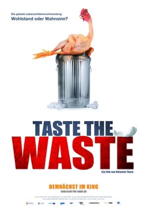 Taste the waste - German Movie Poster (thumbnail)
