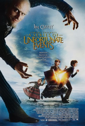 Lemony Snicket's A Series of Unfortunate Events - Movie Poster (thumbnail)