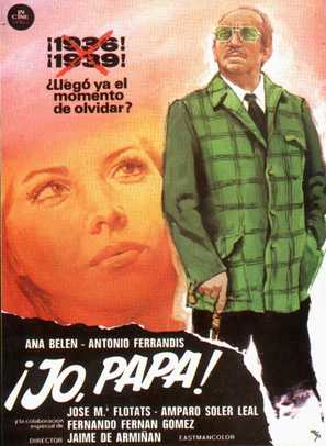 Jo, papá - Spanish Movie Poster (thumbnail)