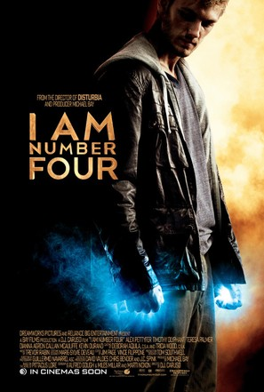 I Am Number Four - Movie Poster (thumbnail)