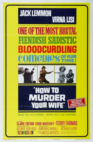 How to Murder Your Wife - Movie Poster (thumbnail)