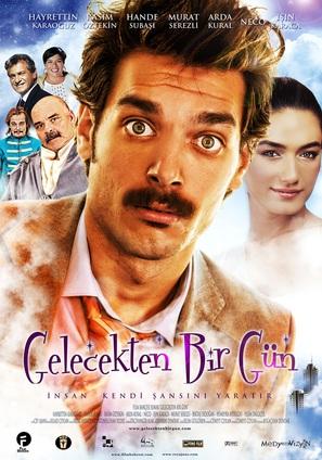 Gelecekten bir gün - Turkish Movie Poster (thumbnail)