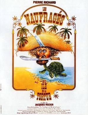Les naufragés de l'île de la Tortue - French Movie Poster (thumbnail)
