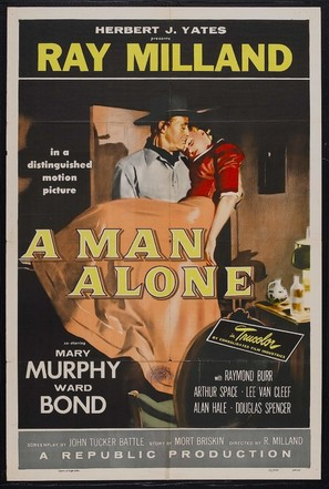 A Man Alone - Movie Poster (thumbnail)