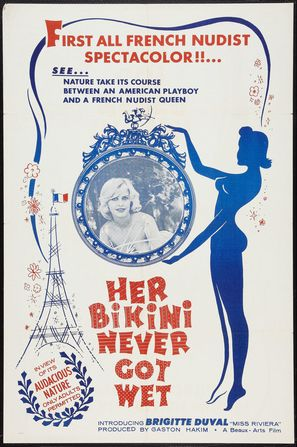 Her Bikini Never Got Wet - Movie Poster (thumbnail)
