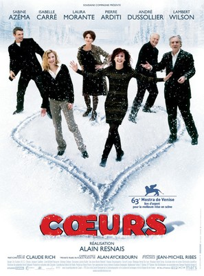 Coeurs - French Movie Poster (thumbnail)