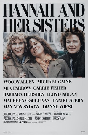 Hannah and Her Sisters - Movie Poster (thumbnail)
