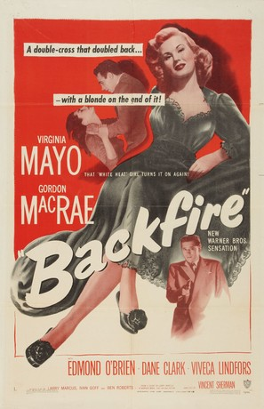 Backfire - Movie Poster (thumbnail)