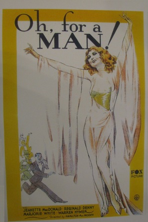 Oh, for a Man! - poster (thumbnail)