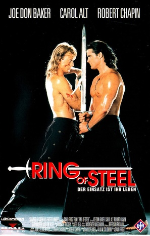 Ring of Steel - German VHS movie cover (thumbnail)