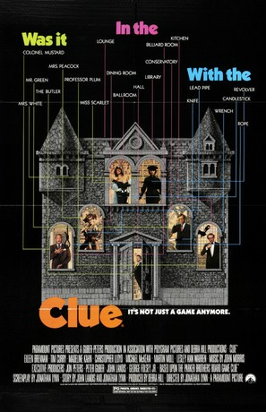 Clue - Movie Poster (thumbnail)