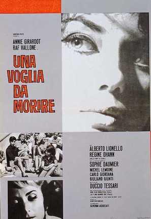 Una voglia da morire - Italian Movie Poster (thumbnail)