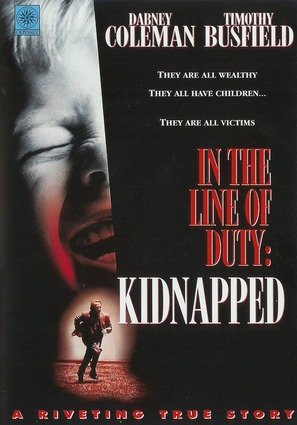 Kidnapped: In the Line of Duty - DVD cover (thumbnail)