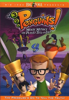 3-2-1 Penguins: Moon Menace on Planet Tell-A-Lie - DVD movie cover (thumbnail)