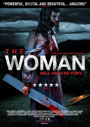 The Woman - British Movie Poster (thumbnail)