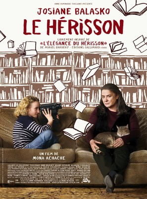 Le hérisson - French Movie Poster (thumbnail)