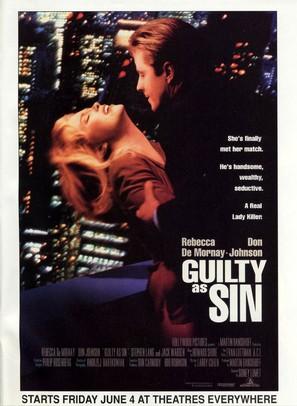 Guilty as Sin - Movie Poster (thumbnail)