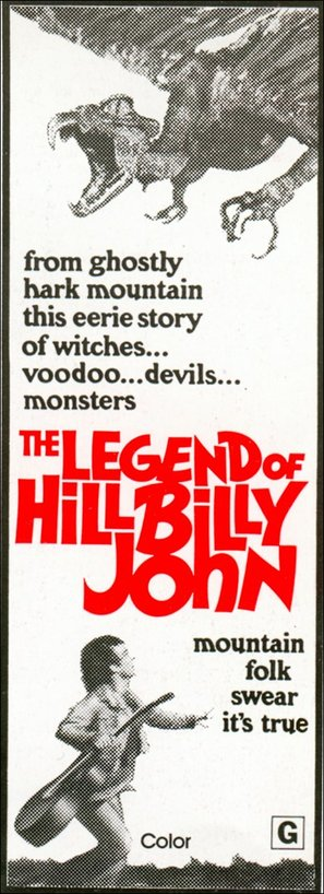 The Legend of Hillbilly John - Movie Poster (thumbnail)