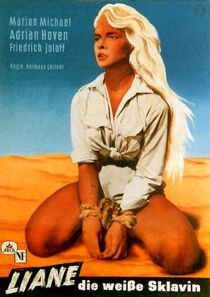 Liane, die weiße Sklavin - German Movie Poster (thumbnail)