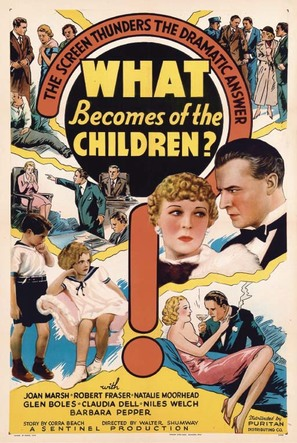 What Becomes of the Children? - Movie Poster (thumbnail)