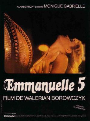 Emmanuelle V - French Movie Poster (thumbnail)