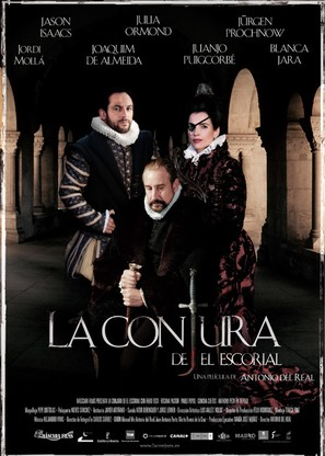 La conjura de El Escorial - Spanish Movie Poster (thumbnail)