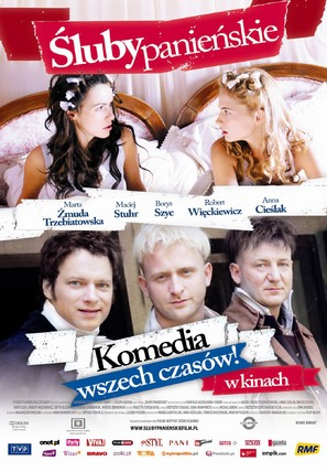 Sluby panienskie - Polish Movie Poster (thumbnail)