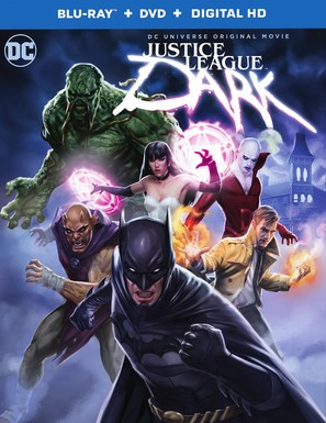 Justice League Dark - Blu-Ray movie cover (thumbnail)