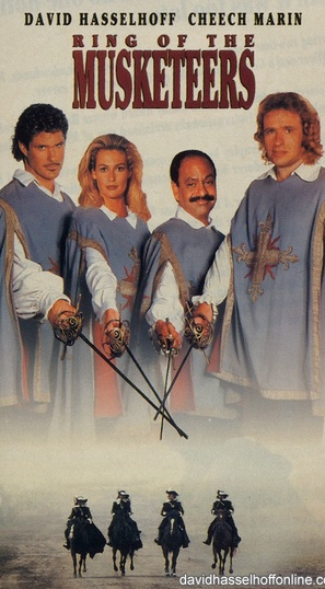 Ring of the Musketeers - VHS movie cover (thumbnail)