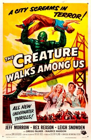 The Creature Walks Among Us - Movie Poster (thumbnail)