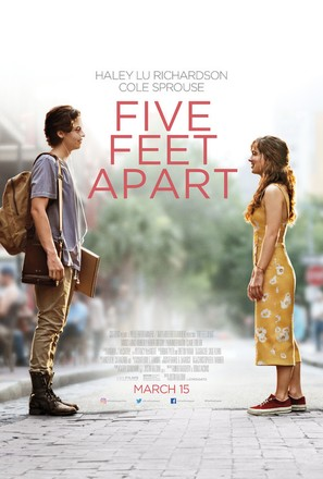 Five Feet Apart - Movie Poster (thumbnail)
