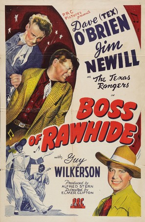 Boss of Rawhide - Movie Poster (thumbnail)