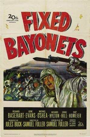 Fixed Bayonets! - Movie Poster (thumbnail)