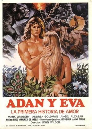 Adamo ed Eva, la prima storia d'amore - Spanish Movie Poster (thumbnail)