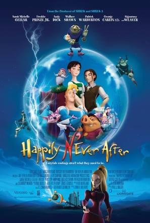 Happily N'Ever After - Movie Poster (thumbnail)