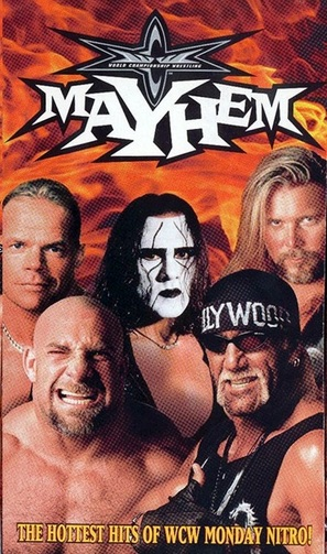 WCW Mayhem - VHS movie cover (thumbnail)